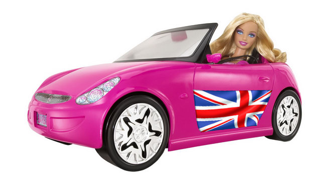 Barbie Car 1 British Engineer Busted for Drink Driving a... Toy Barbie Car