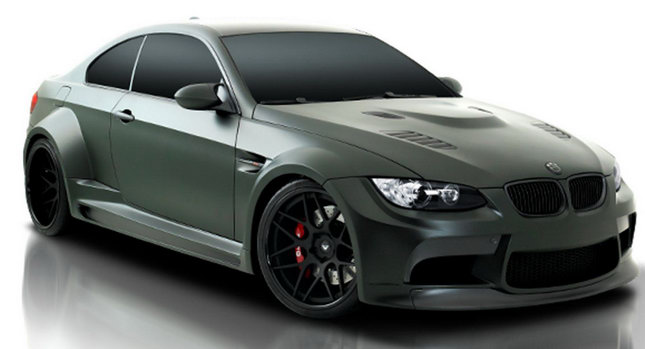 Vorsteiner BMW GTSR3 M3 Coupe 01 Vorsteiner GTRS3: Bad Boy Widebody BMW M3 Coupe