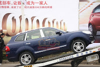 Huatai B35 Cayenne 2 Only in China: A Porsche Cayenne Clone with a Bentley Snout by Huatai