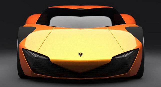 Lamborghini Minotauro 001 2020 Lamborghini Minotauro Design Concept photos pictures