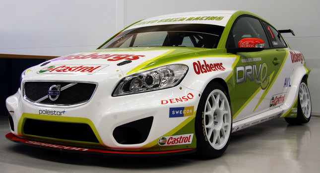 Volvo C30 Racer STCC 001 Volvo Unleashes New C30 STCC Racer [with Video]