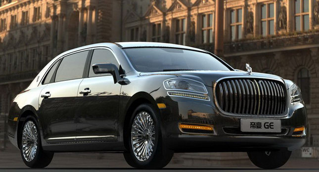 2011 Geely GE Limousine 001 Chinas Geely Updates its GE Rolls Royce Lookalike for the Beijing Auto Show
