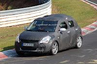 2011 Suzuki Swift 5 New 2011 Suzuki Swift Snagged on Film Could Debut in Paris This Year Photos Videos