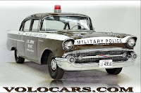 1957 Chevrolet Police Car 14 Copped out: 1957 Chevy Military Police Car for Sale
