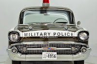 1957 Chevrolet Police Car 22 Copped out: 1957 Chevy Military Police Car for Sale