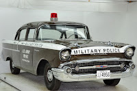 1957 Chevrolet Police Car 23 Copped out: 1957 Chevy Military Police Car for Sale