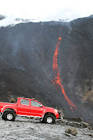 Toyota Hilux Iceland Volcano 70 Toyota Hilux Tackles Icelands Eyjafallajökull Volcano Hours Before Eruption