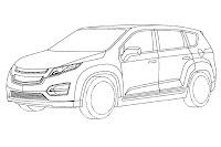 Chevrolet Volt Minivan 1 GM Readying Chevrolet Volt esque Extended Range Electric Minivan? Official Patent Designs