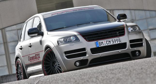 CoverEFX T VW Touareg W12 001 CoverEFX Wraps Touareg W12, Gives it 500 Horsepower