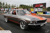 Folden Holden HQ Ford Mustang 12 The Folden: New Zealanders Create Half Holden HQ, Half Ford Mustang Mechanical Frankenstein