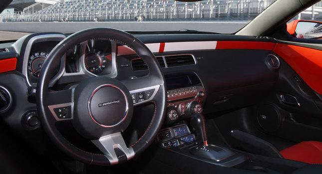 2012 Chevrolet Camaro Interior. 2012 Camaro: New interior,