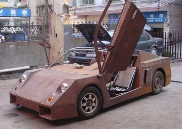 Diy Chinese Lamborghini Wannabe Replica Built For
