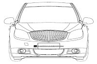 2012 Buick Excelle 2 U.S. Patent Drawings of 2012 Buick Excelle Sedan