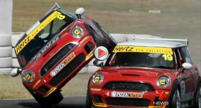 MINI 0 VIDEO: Shocking MINI Racer Accident in Australia