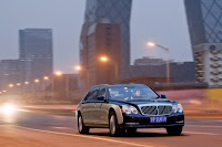 2011 Maybach 15 Beijing Auto Show: Maybachs Face lifted Offerings