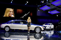 2011 Maybach 32 Beijing Auto Show: Maybachs Face lifted Offerings