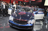 2011 Maybach 20 Beijing Auto Show: Maybachs Face lifted Offerings