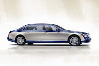 2011 Maybach 35 Beijing Auto Show: Maybachs Face lifted Offerings