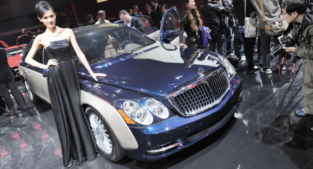 2011 Maybach 0001 Beijing Auto Show: Maybachs Face lifted Offerings