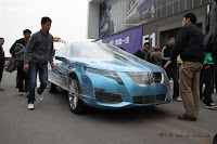 BAW C71 Saab 9 5 16 China Made Saab 9 5 by BAW: First Photos and Video