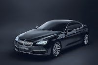 BMW Concept Gran Coupe 5  BMW Gran Coupé Concept Coming with 6 Series Badge in 2012 Photos