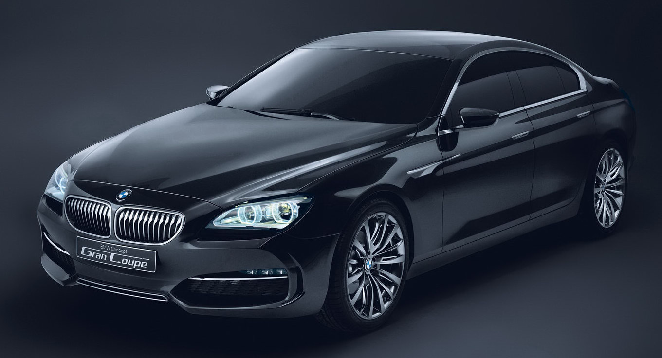 2011 bmw 6 series coupe chopped from new gran coupe concept. Black Bedroom Furniture Sets. Home Design Ideas