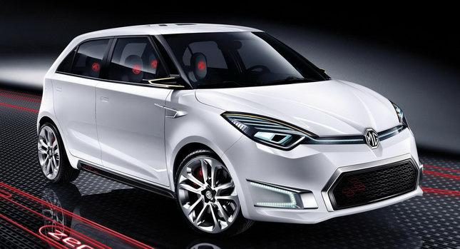 MG ZERO Concept 0 Beijing Show: MG Zero Supermini Concept