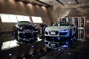 Iron Man 2 Audi R8 Spyder Iron Man 2 Audi R8 Wallpaper (iron man audi spyder )