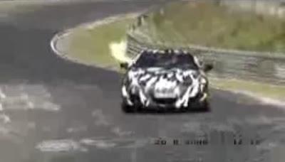 Honda NSX  Video: Prototype Honda / Acura NSX at the Ring