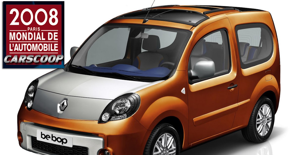 new renault kangoo be bop with convertible top. Black Bedroom Furniture Sets. Home Design Ideas