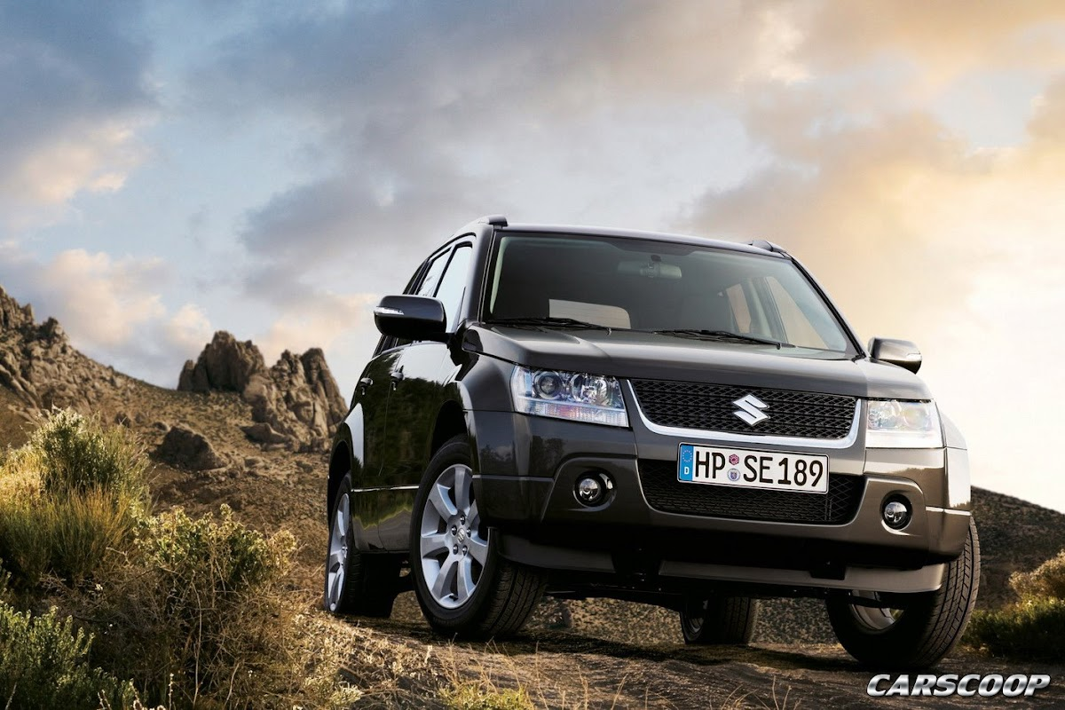 Suzuki grand vitara 2 4 facelift 2009