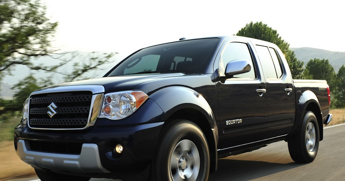 Nissan Frontier Bed Size >> Suzuki Prices the Equator Pickup Truck from $17,985