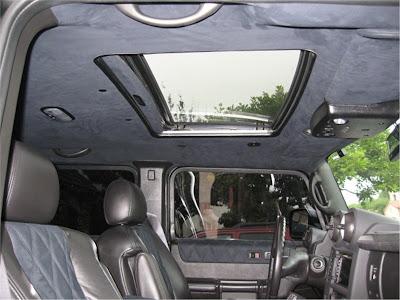 matte black Hummer 605 STRUT Hummer H2 Matte Black   Photos