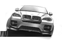 BMW X6 Interceptor 24 Russias Met R Creates the BMW X6 Interceptor Photos