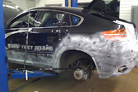 BMW X6 Interceptor 25 Russias Met R Creates the BMW X6 Interceptor Photos