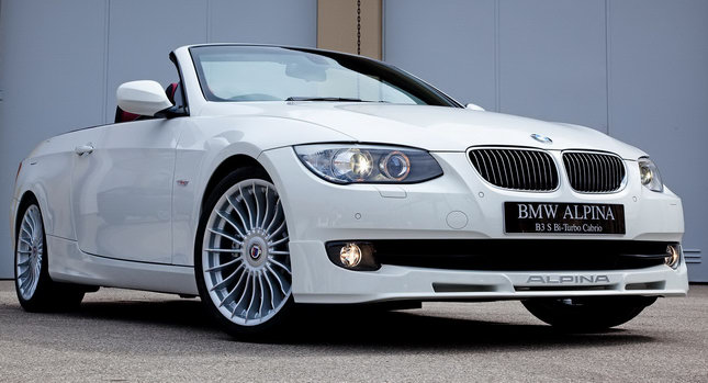 New BMW Alpina B3 S Bi-Turbo with 400 Ponies