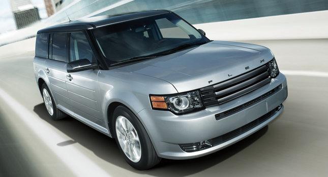 2011 Ford Flex Titanium 0 Ford Adds Top End Titanium Model to Flex Lineup Photos