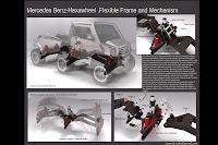 Mercedes Benz Hexawheel Concept 3 Mercedes Benz Hexawheel Concept Study Photos