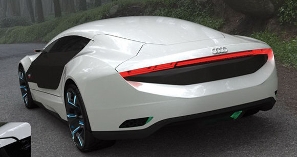 Audi A9 Hybrid Sports Sedan Concept By Daniel Garcia Photos