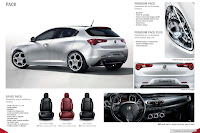 New Alfa Romeo Giulietta Brochure Photos