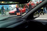 Ferrari 458 Italia Crash 3 First Recorded Crash of Ferrari 458 Italia Photos