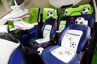 Hyundai i10 Football Cars 5 Hyundai Kicks Off Countdown to 2010 World Cup with i10 Football Themed Cars Photos