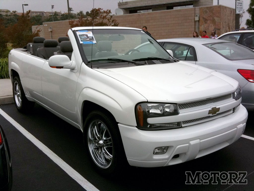 THE CAR: Topless Chevrolet Trailblazer for Sale