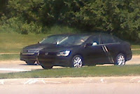 Mystery VW Sedan Scoop 1 Mystery Sedan Spied Could it be the 2011 Volkswagen Jetta Photos