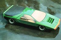 Bertone Alfa Romeo Carabo 5 Foose Made Alfa Romeo Carabo Replica Found on eBay Photos