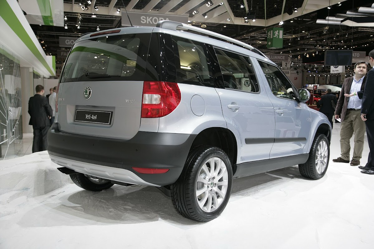 Skoda S Yeti Compact Suv With Finally Revealed