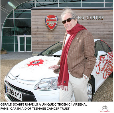 Citroen C4 Arsenal 3 Citroen creates One Off C4 dedicated to Arsenal Soccer Team Photos