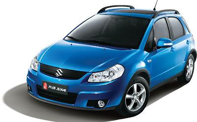 2010 Suzuki SX4 8 2010 Suzuki SX4 and SX4 Sedan Facelift Revealed in China