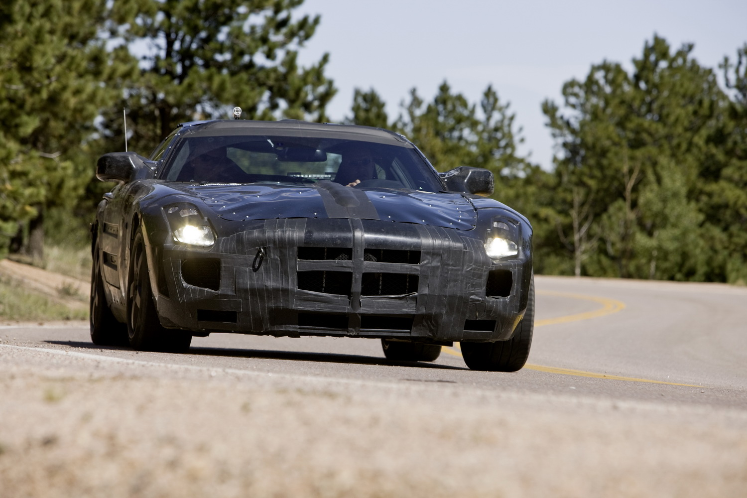 The Mercedes-Benz SLS AMG is
