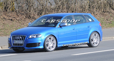 Audi RS3 8 Audi RS3 Prototype with 340HP 2.5 Turbo Caught Testing in Nurburgring